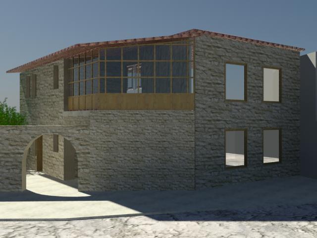 Ανακατασκευή Κτηρίου στον Καλαμαρά Μεσσηνίας