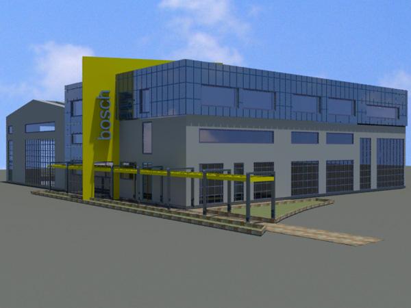 Βιομηχανικό Κτήριο Επισκευής Βαρέων Οχημάτων στο Ασπρόχωμα Καλαμάτας