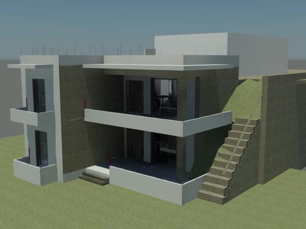 Μελέτη-Κατασκευή 2οροφης κατοικίας στο Ψάρι Μεσσηνίας