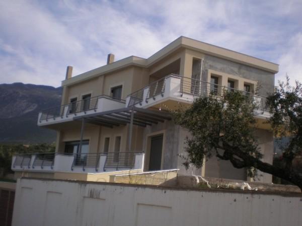Μελέτη Κατασκευή 2οροφης Μονοκατοικίας στη Μαντίνεια Μεσσηνίας