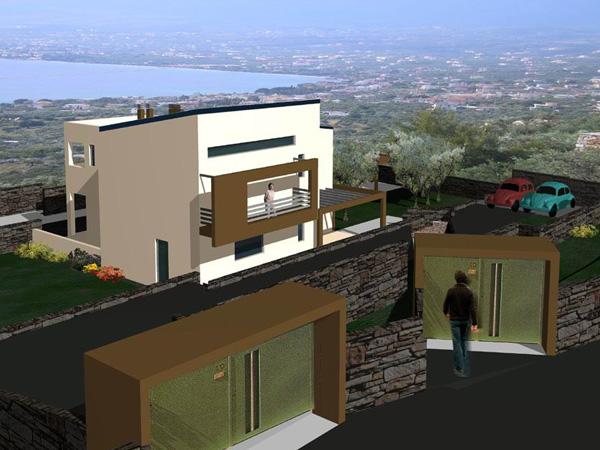 Μελέτη 2οροφης Μονοκατοικίας στη Καλαμάτα