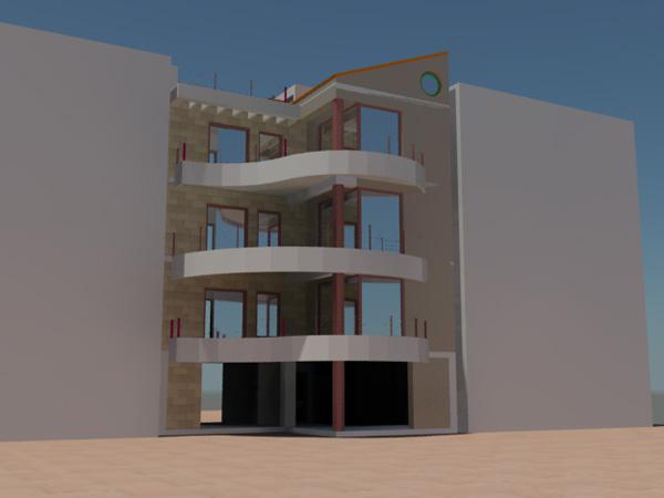 Μελέτη Τριώροφης οικοδομής στη Καλαμάτα