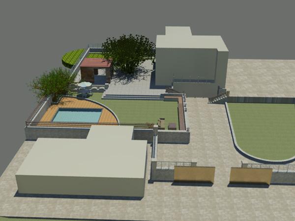 Διαμόρφωση Περιβάλλοντος Χώρου Κατοικίας στο Καλό Νερό