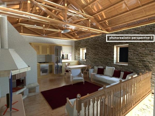 Ανακατασκευή Διώροφης Πέτρινης Κατοικίας στην Κλεισούρα Μεσσηνίας
